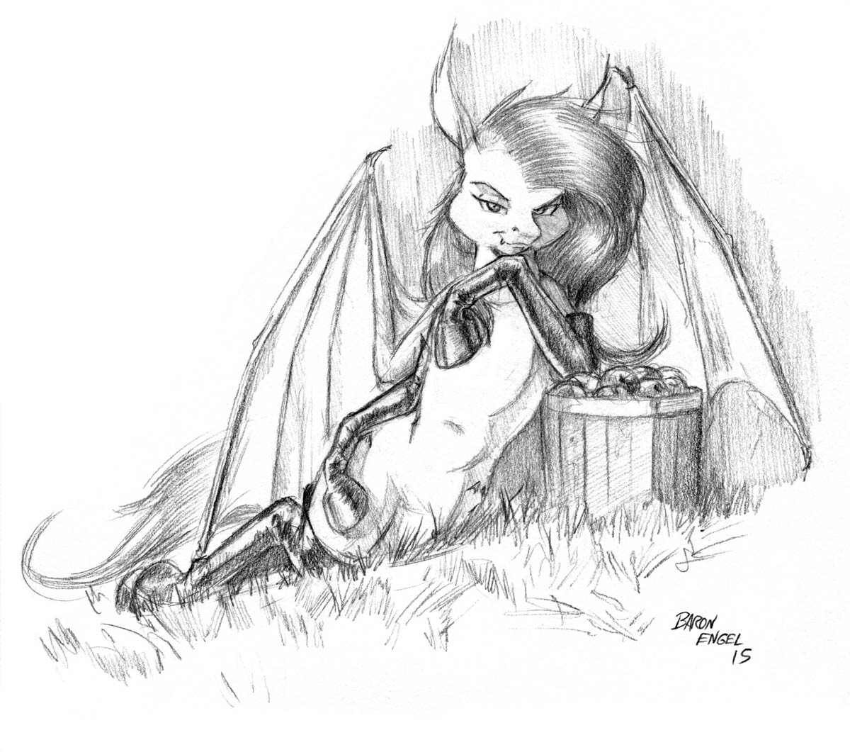 #MLP #Flutterbat seems to be interested in more than just apples.<br>http://pic.twitter.com/H6XqenPONa