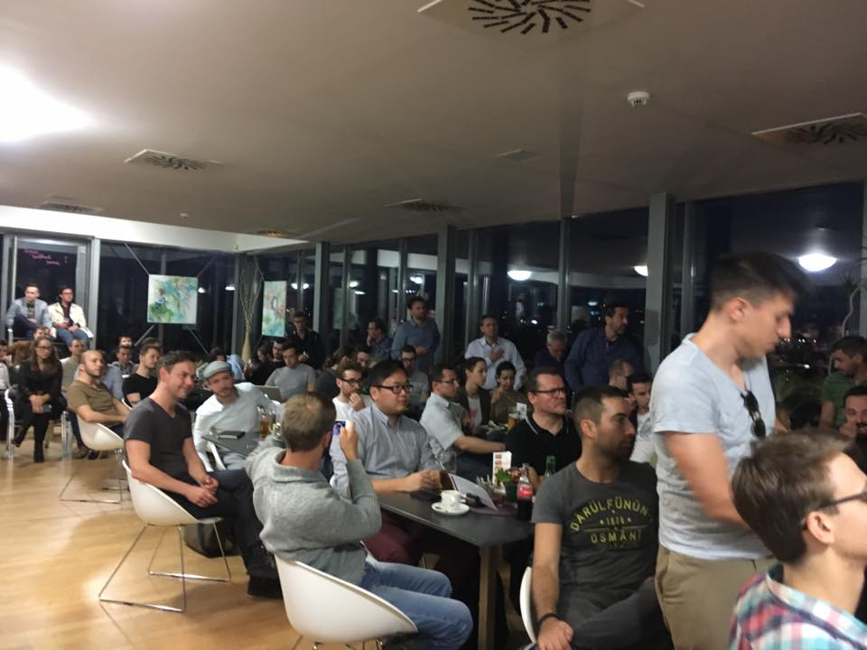 Wow! We have had a great turn out for our #blockchain #event! Use the hashtag #CHmeetup1 to spread around our #Crypto spirit!  #bitcoin #eth<br>http://pic.twitter.com/qPQz8P4uVt