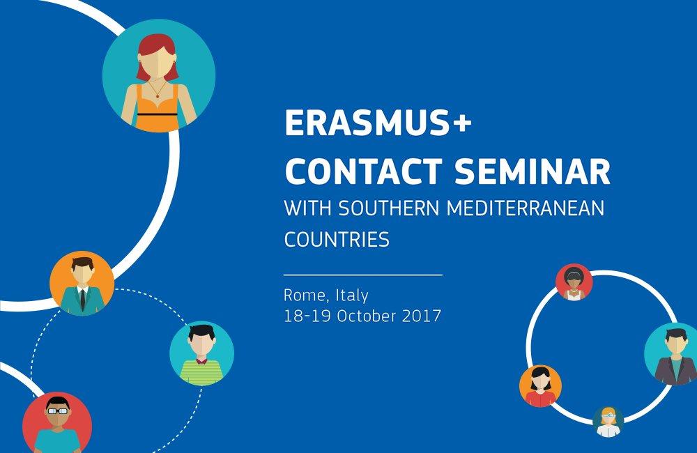 Participants from European &amp; South Med unis will meet tomorrow to discuss cooperation under #ErasmusPlus programme:  https:// ec.europa.eu/programmes/era smus-plus/events/20171018-erasmus-contact-seminar-southern-mediterranean-countries_en &nbsp; … <br>http://pic.twitter.com/29PhyTXhNg