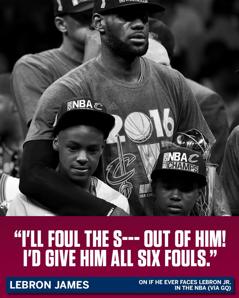 If LeBron ever faces Bronny in the NBA, expect a different type of pre...
