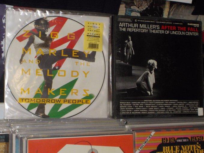 Happy Birthday to Ziggy Marley & the late Arthur Miller