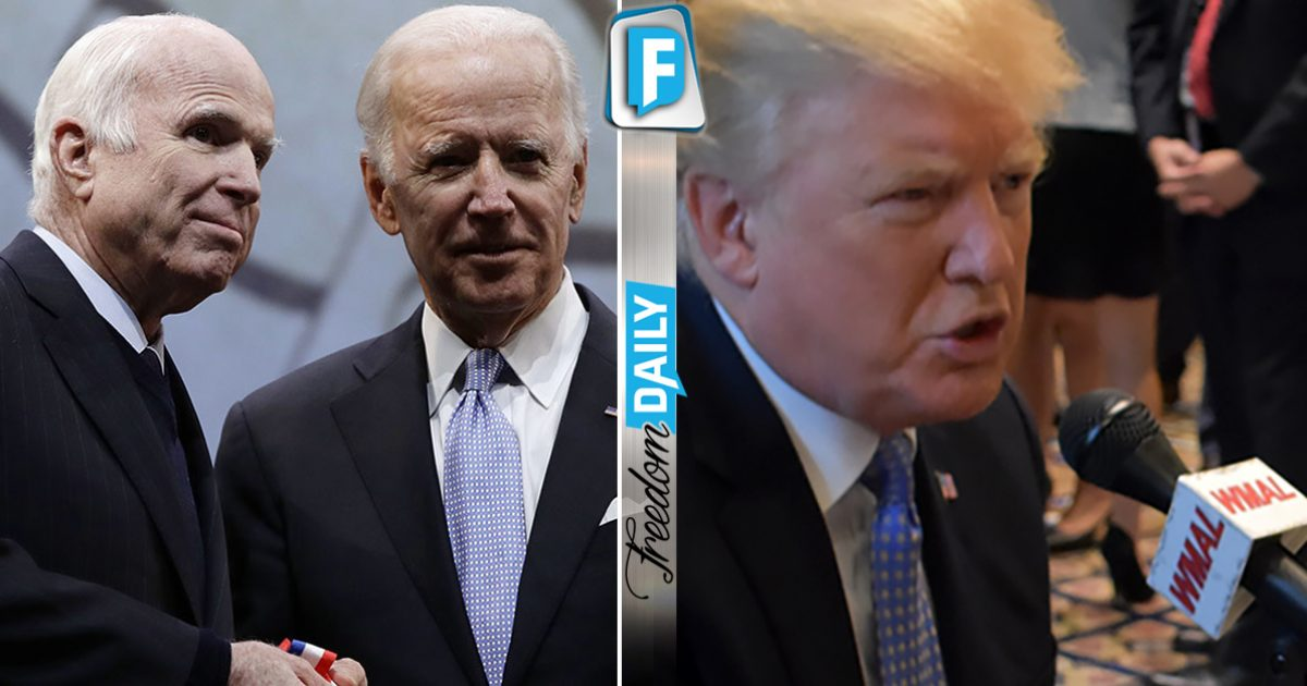 #Traitor #McCain Uses Prestigious #Awards To #trash #Trump – BIG #mistake After #POTUS Shows Up With     https:// goo.gl/r4TdRt  &nbsp;  <br>http://pic.twitter.com/lpMBATAO1V
