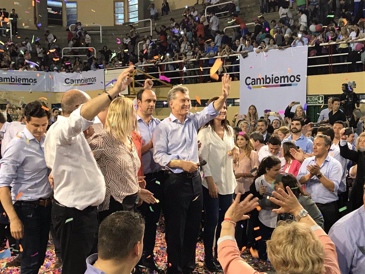 'Queremos ser la generación que cambie a la Argentina para siempre' @m...