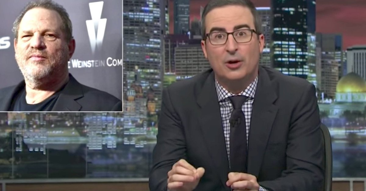 John Oliver is not impressed with the Academy for kicking out Harvey Weinstein https://t.co/FH9ORkCu4U