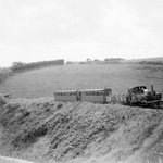 Yeo on a mixed train at Dean Lane bridge and in July 1935 near summit of the line close to @woody_bay from our new L&B book just published