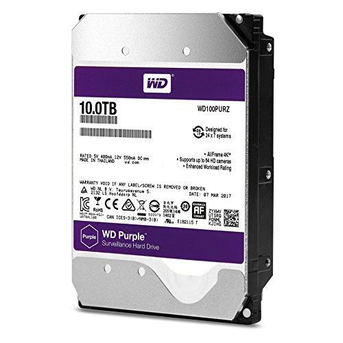 https://t.co/hEw6kFFazS WD Purple 10TB Surveillance Hard Disk Drive –...