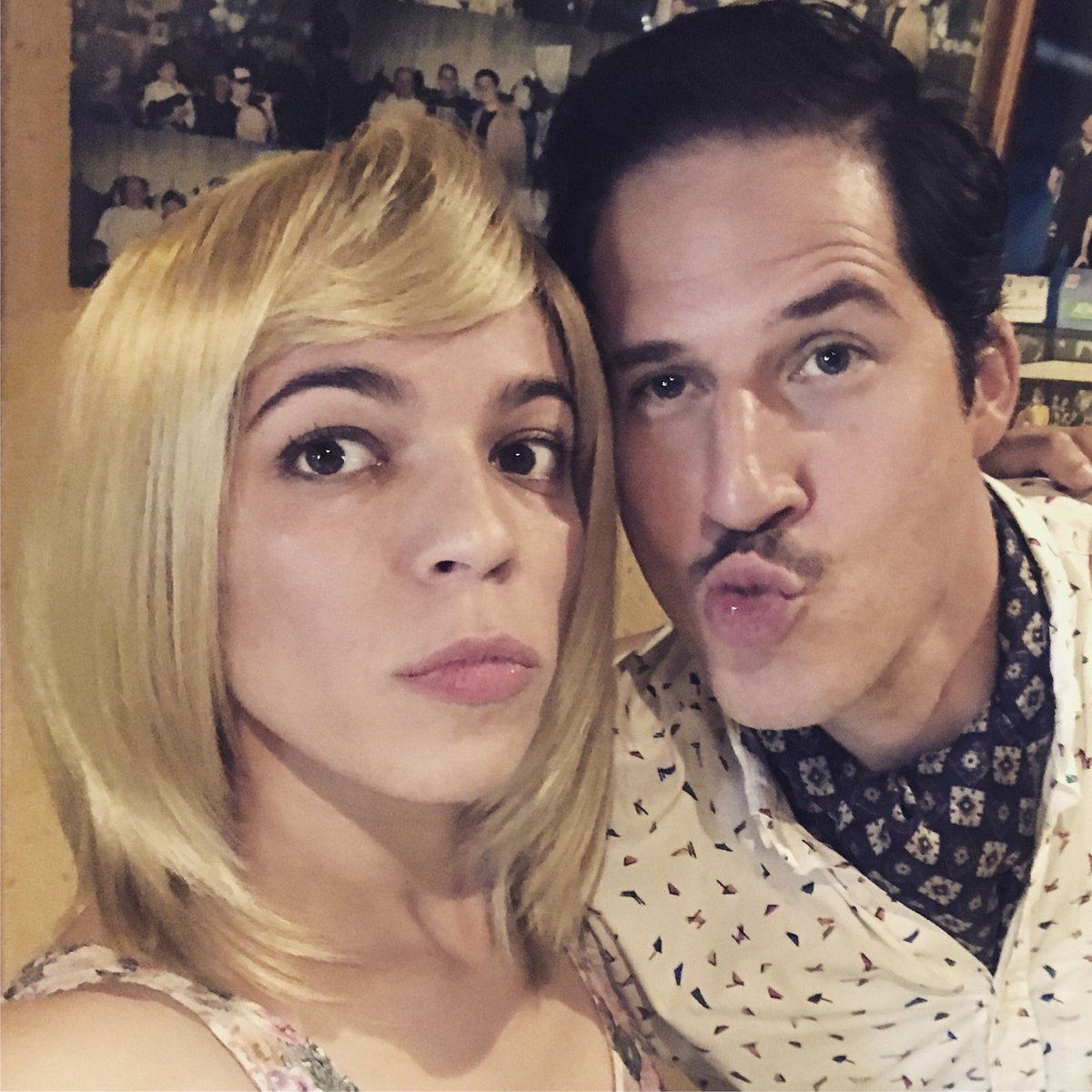 I had so much fun today playing CONCHITA for the project &quot;Kopfhoch, amigo&quot;. Thanks David Garzón for the laughs! #actorsonset #actresslife <br>http://pic.twitter.com/3TvjmEiZo0