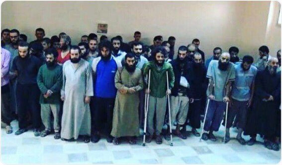 #ISIS lost nearly 6000 terrorists in #Raqqa, then surrendered in large numbers. Once purported as fierce, now pathetic and a lost cause. 4/6