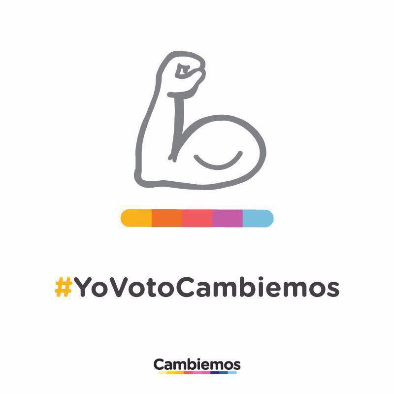 Sigamos con el cambio. Este domingo #YoVotoCambiemos https://t.co/GRpX...