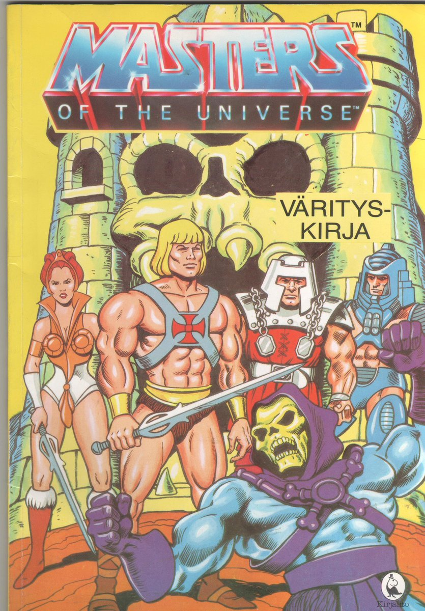 Finnish coloring book #HeMan <br>http://pic.twitter.com/2SXpbvLmA8
