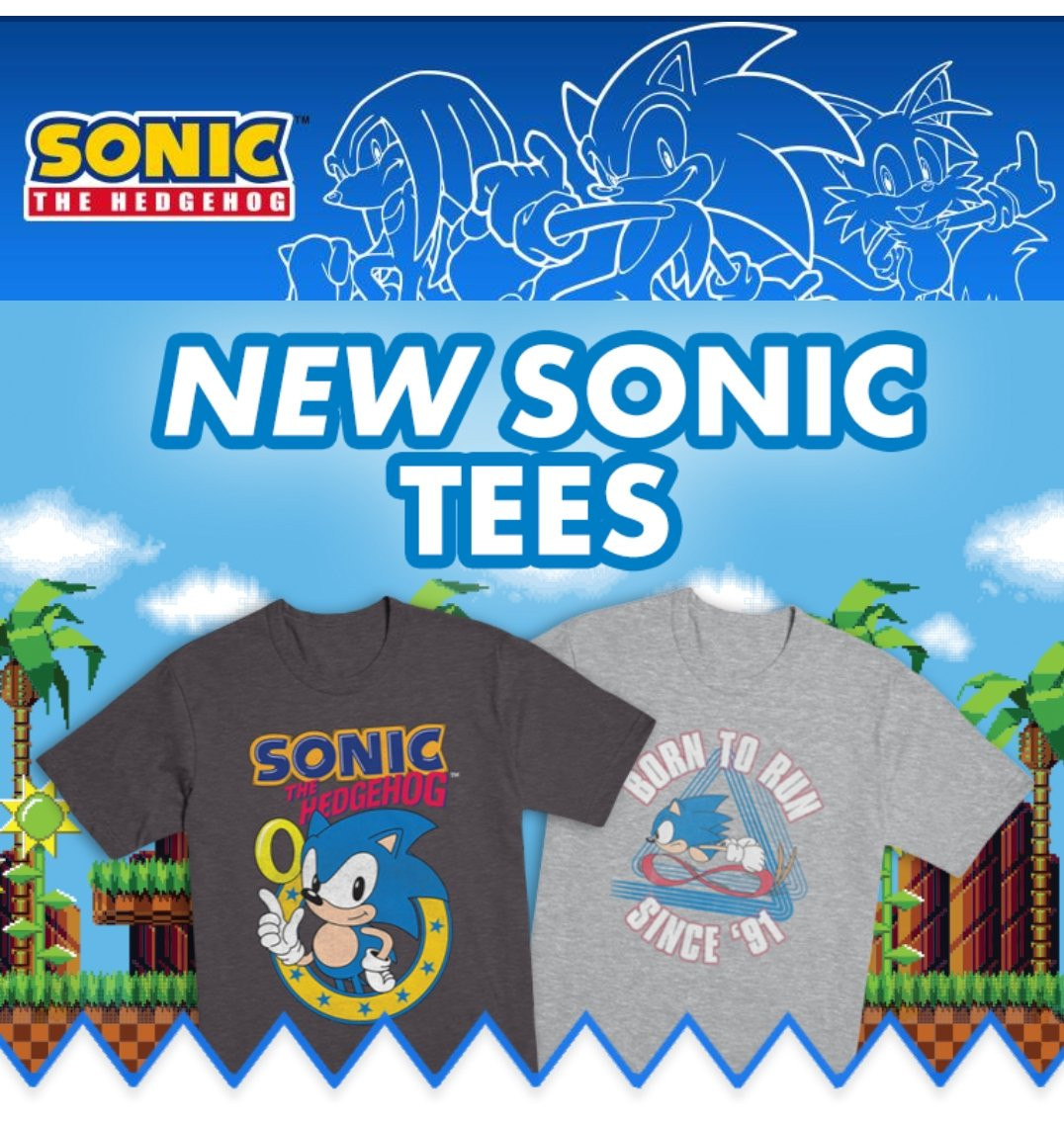 ae826f73 Official SEGA Shop is now available to check out. So much Sonic merchandise!  →https://shop.sega.com pic.twitter.com/Csw6PzLbVQ