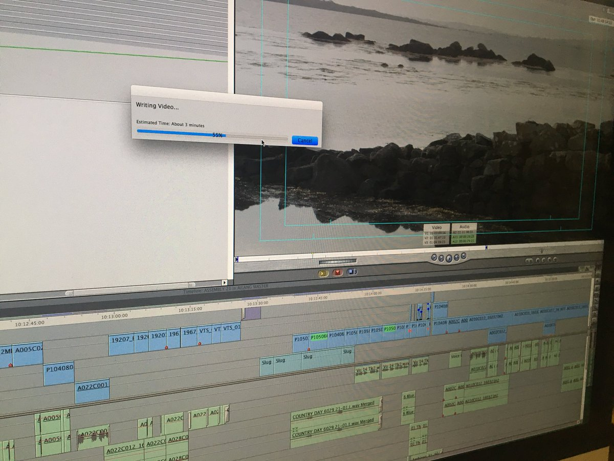 Níl muid i bhfad as..... Nearing the end of the edit @ShadowoftheGlen