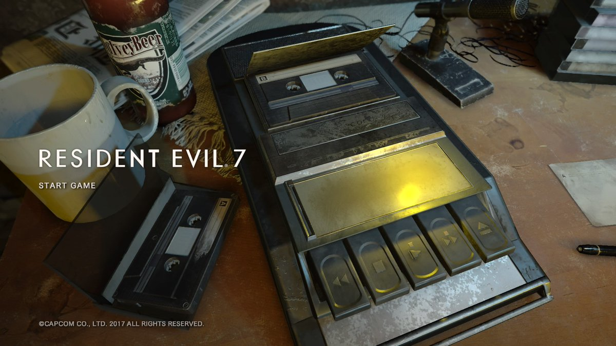 Now gaming #RE7 #PS4share<br>http://pic.twitter.com/8yIeIVTEeX