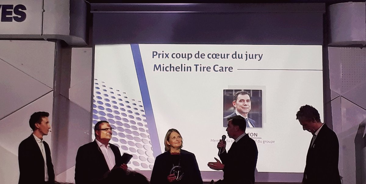 Michelin second #coupdecoeur  #TransformationDigitale #ecac40 #ECAC  #MichelinTireCare<br>http://pic.twitter.com/E888pa5Rez
