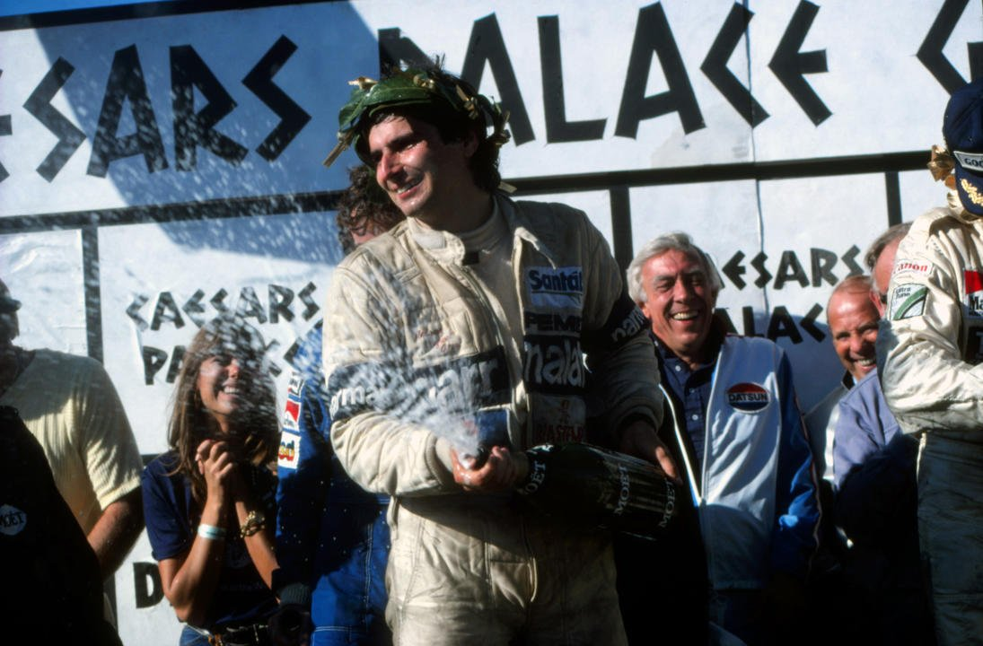 🗓 17/10/81   Nelson Piquet clinched his first world title… in a car pa...