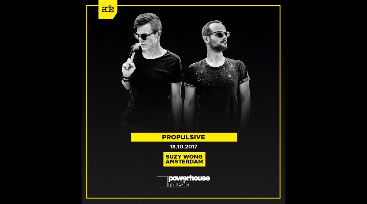 Who&#39;s ready for #ADE?! See U tomorrow! #housemusic #deephouse @Powerhouse_NL @ADE_NL<br>http://pic.twitter.com/cLHHs3cdsM
