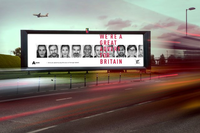 U.K. advertising industry fights to keep borders open for talent ahead of Brexit with campaign by Adam & Eve DDB. https://t.co/5J1DI3Z8yk
