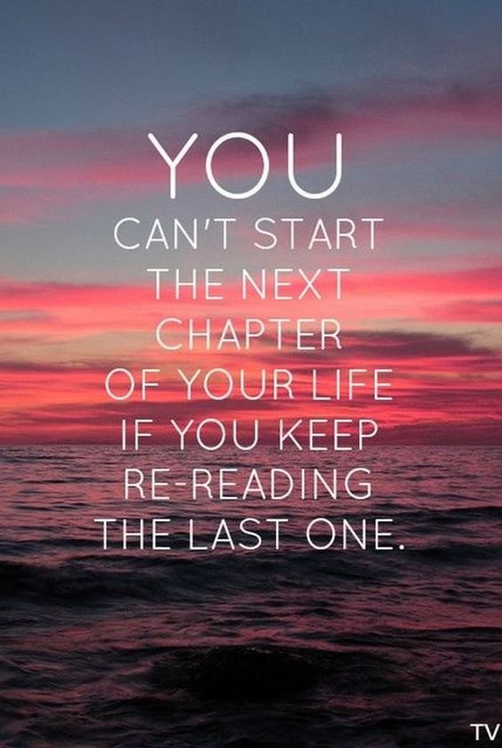 You can&#39;t start the next chapter of your life if you keep re-reading  the last one. Give it to God!   #Genesis33 #TrustGod #ReadingWithJoost<br>http://pic.twitter.com/zHw8DXSf2W