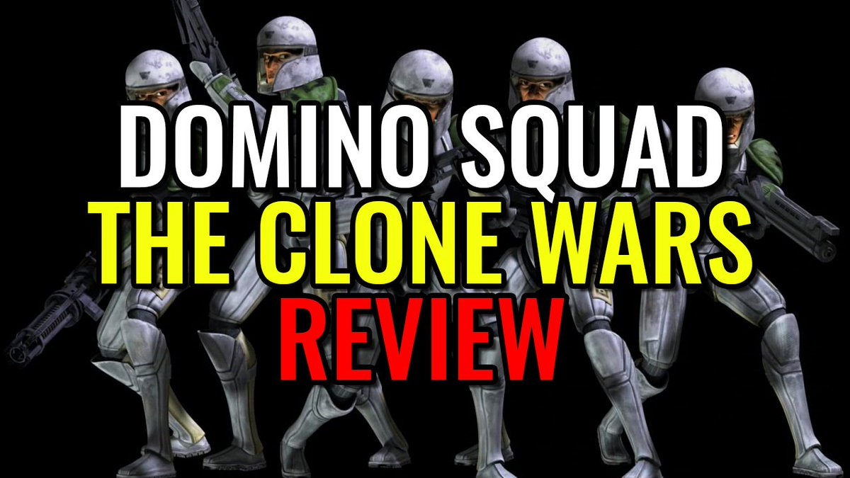 Domino Squad Arc - THE CLONE WARS REVIEW | Watch here:  https://www. youtube.com/watch?v=ZNq0zs PamcY &nbsp; …  #StarWars <br>http://pic.twitter.com/wuLX8pNEUl