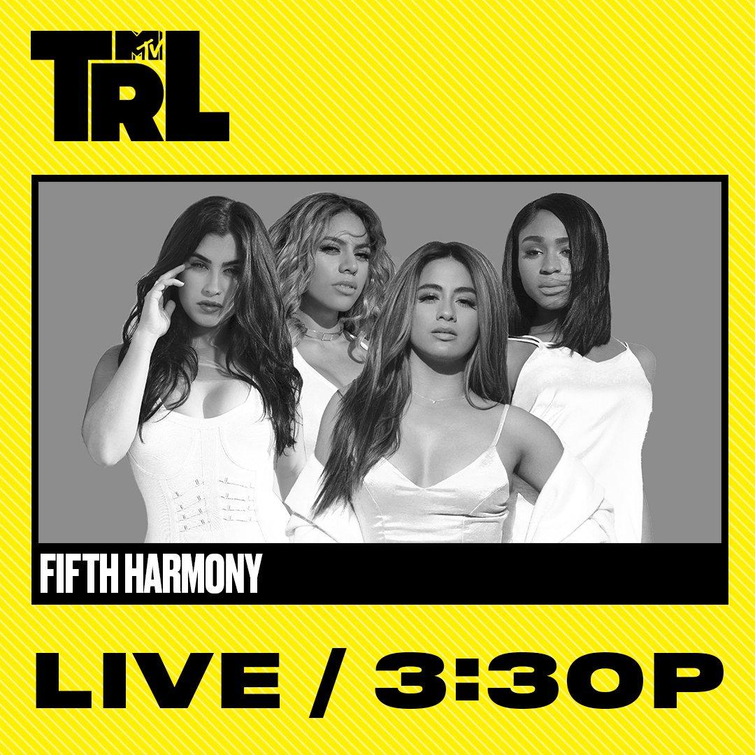today's #TRL guestlist 🔥 @LaurenJauregui...