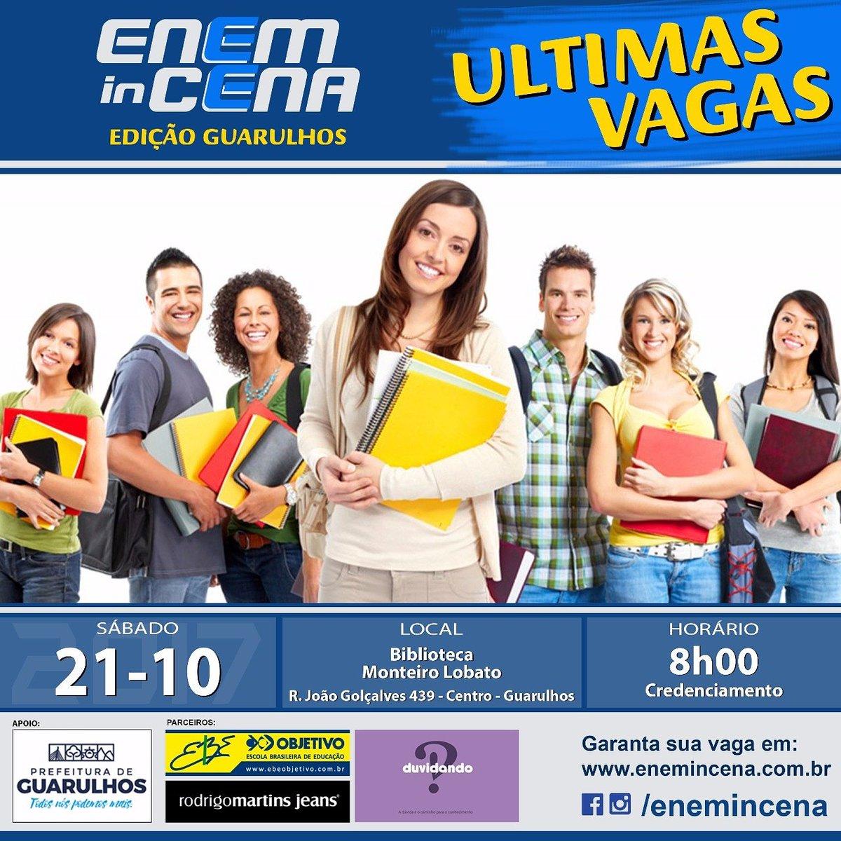 Se sua resposta foi SIM, não fique de fora do ENEM in CENA! Garanta já sua  vaga em  http   www.enemincena.com.br pic.twitter.com 9Xy4FY0QZ7 40dc9fedba