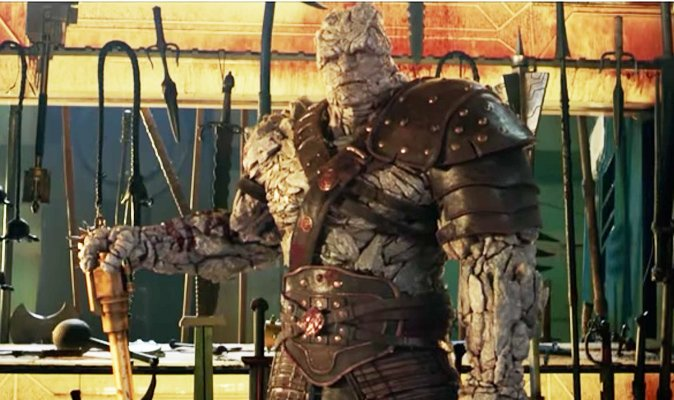 #ThorRagnarok - WHO and WHAT is Korg the Kronan? NEW character revealed in hilarious video with shock twist!  https://t.co/e0z5f5cf7K
