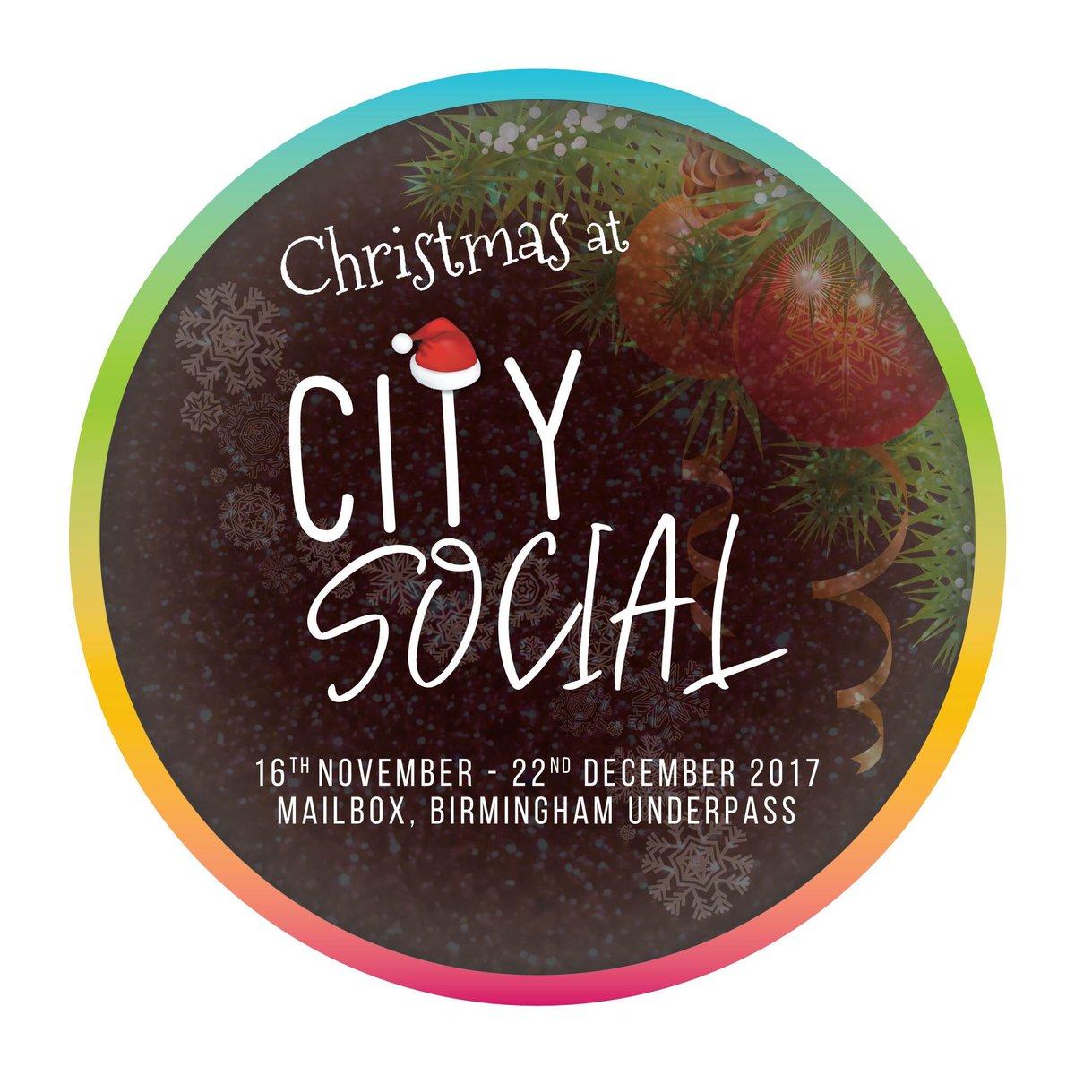 Can&#39;t wait for this  Christmas at city social #christmas #birmingham #everyday #food #drink #entertainment #retail @CitySocialBham<br>http://pic.twitter.com/Q6MFnCjAgJ