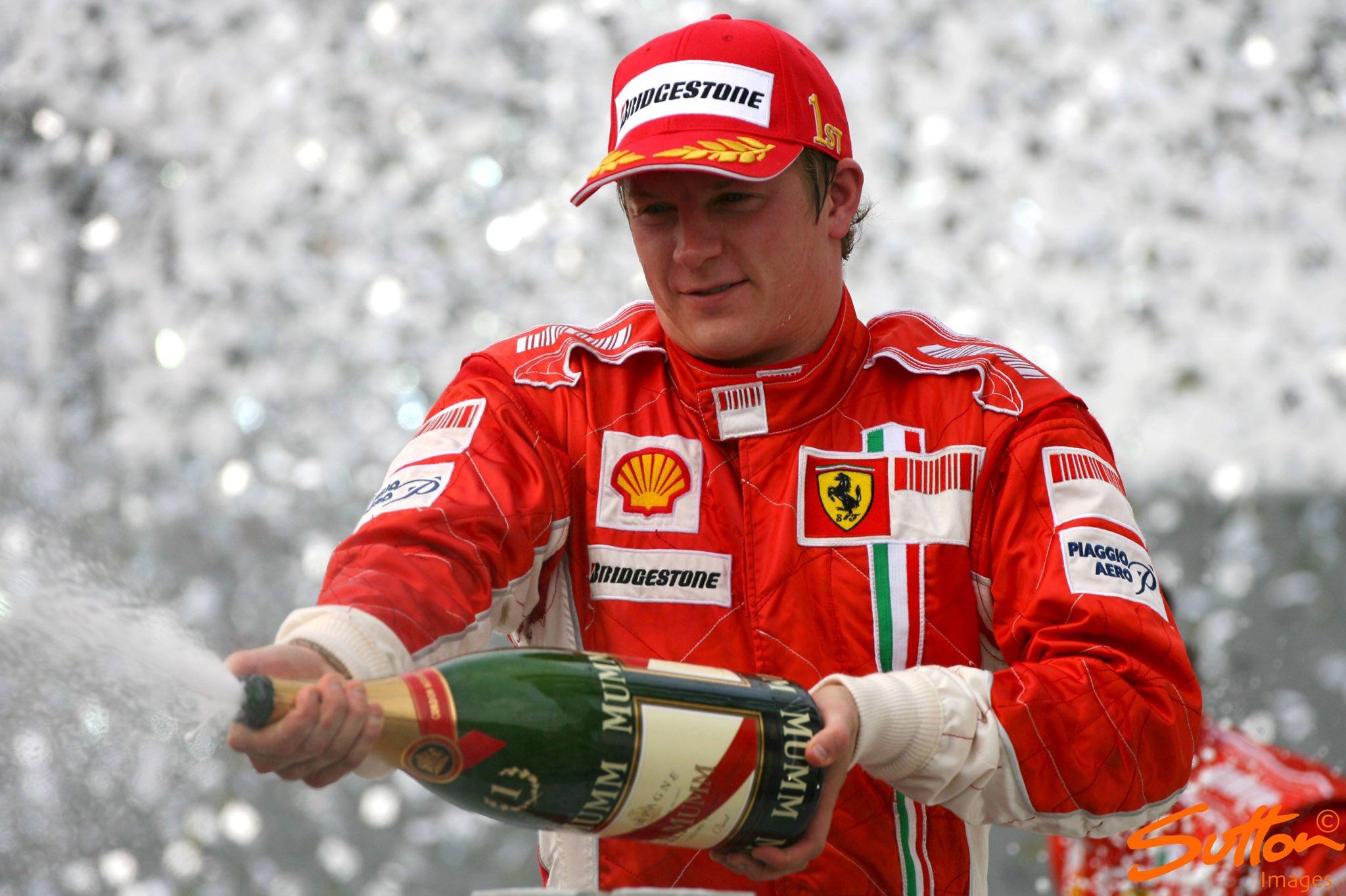 Suttonimages: Happy Birthday to 2007 F1 World Champion Kimi Raikkonen, born on this day in 1979