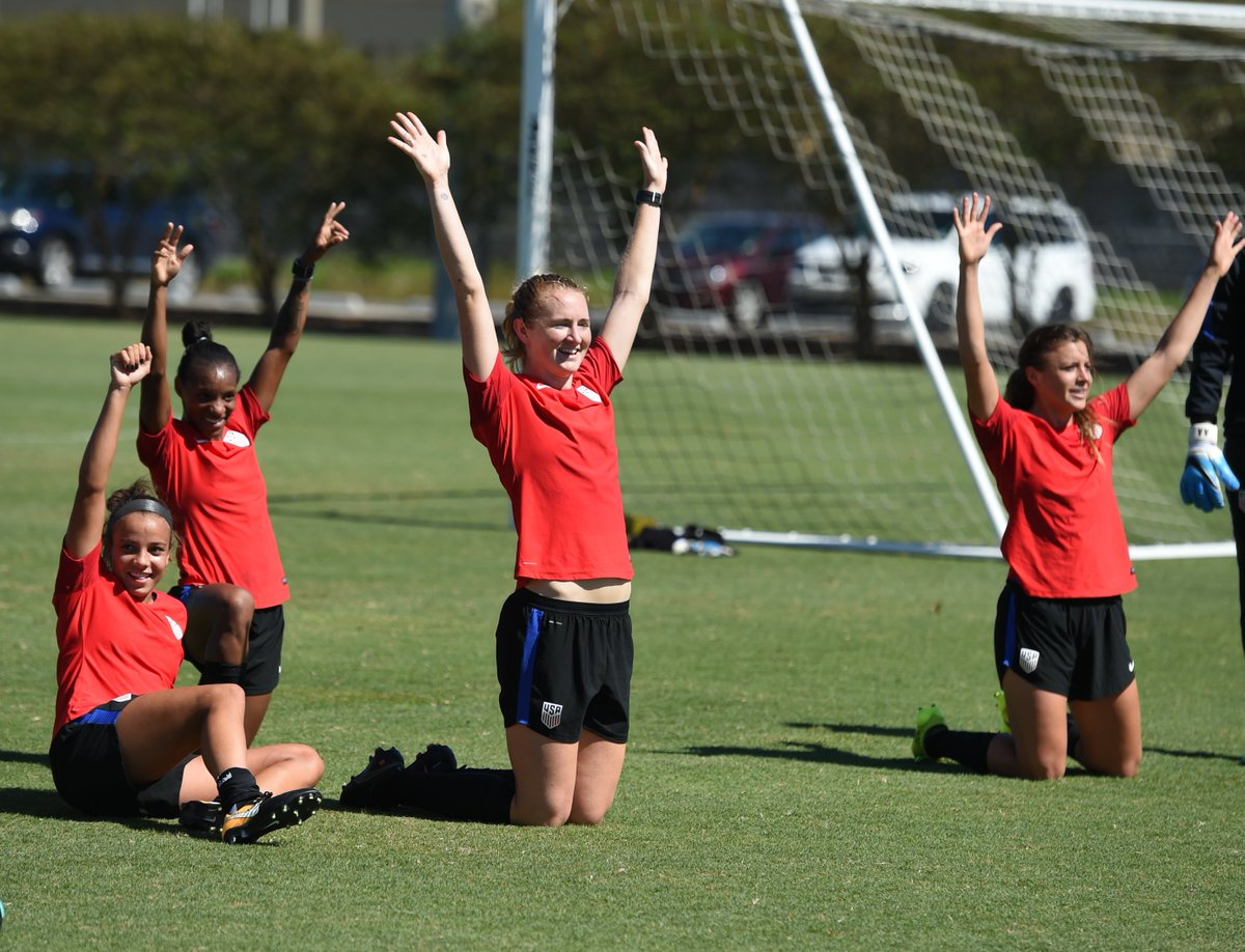Put your hands in the air, if you're a true player... 2 days until game day!  🙋🙋🏽🙋🏾🙋🏿🔜 #USAvKOR: https://t.co/4y47dCvPXf.