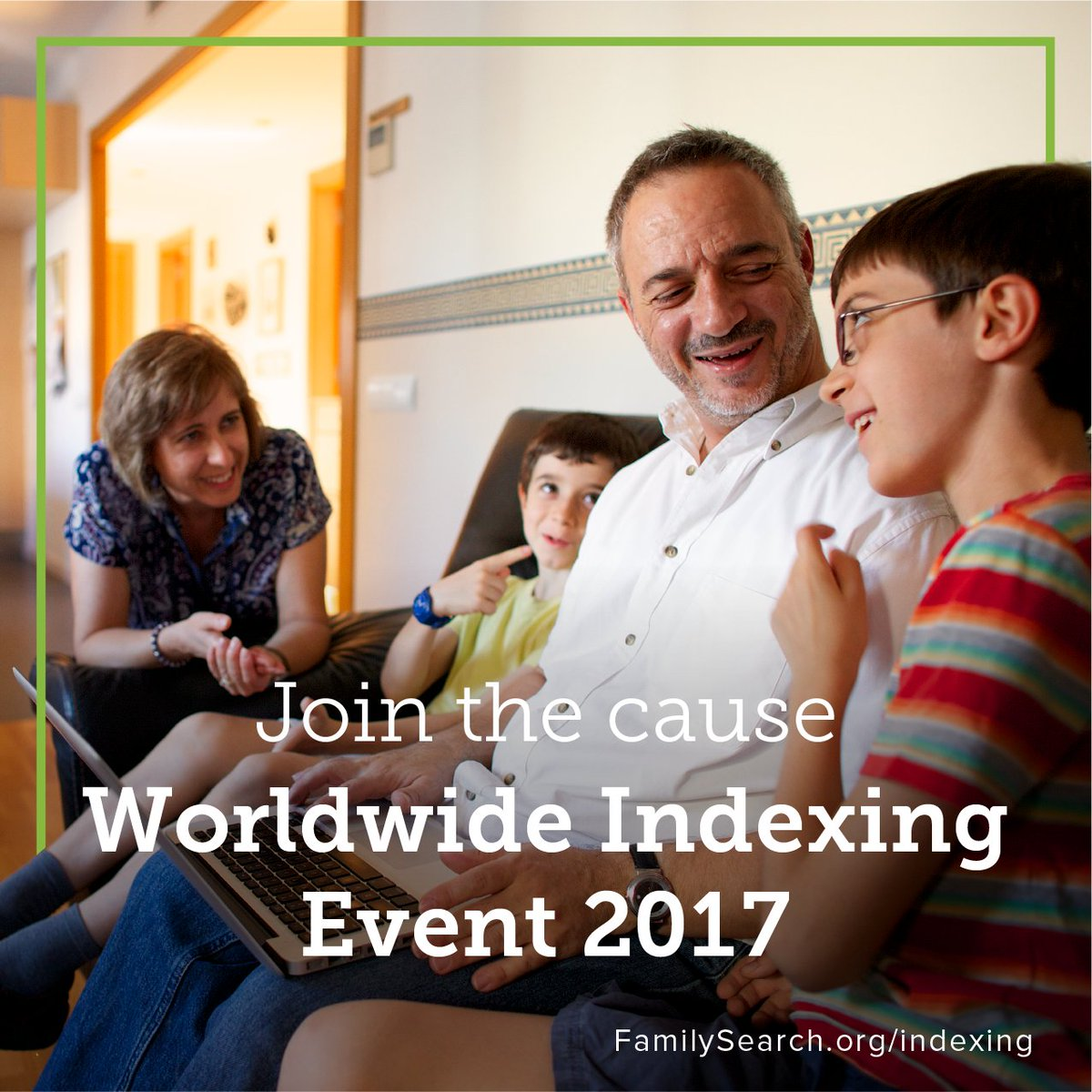 Invite your friends to join the Worldwide #Indexing Event, which begins in 3  days!   Click to sign up!  http:// bit.ly/2ywJqxg  &nbsp;  <br>http://pic.twitter.com/GQW8hVLPwF
