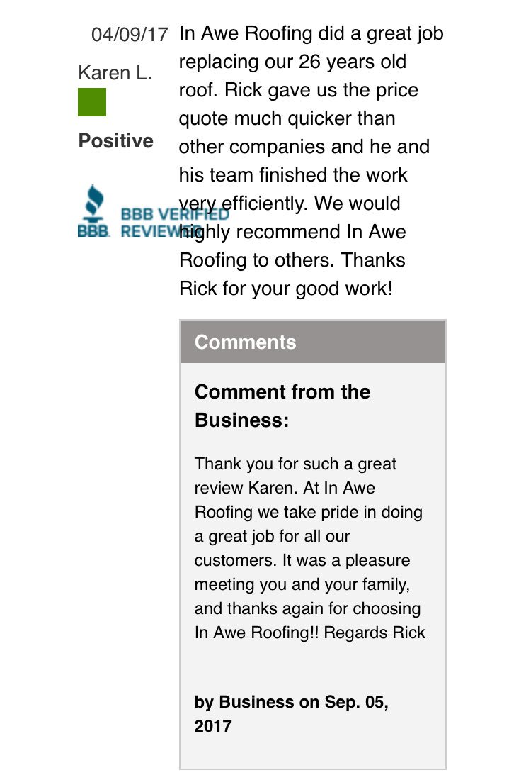 ... .bbb.org/mbc/business Reviews/roofing Contractors/in Awe Roofing  Ltd In Langley Bc 1236865/reviews And Complaints?sectionu003dreviewsu0026reviewtypeu003dpositive  U2026