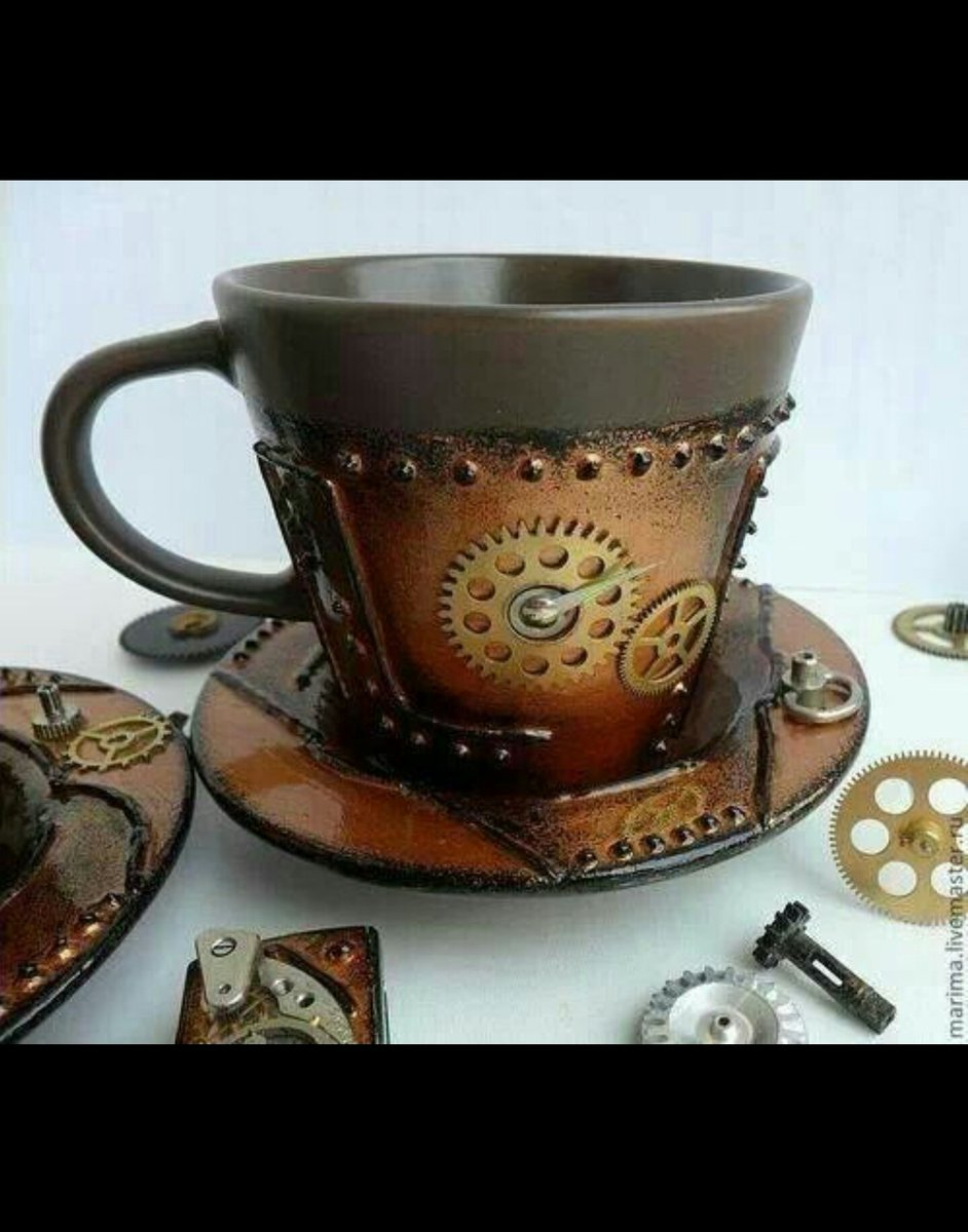 #steampunk #CoffeeLover