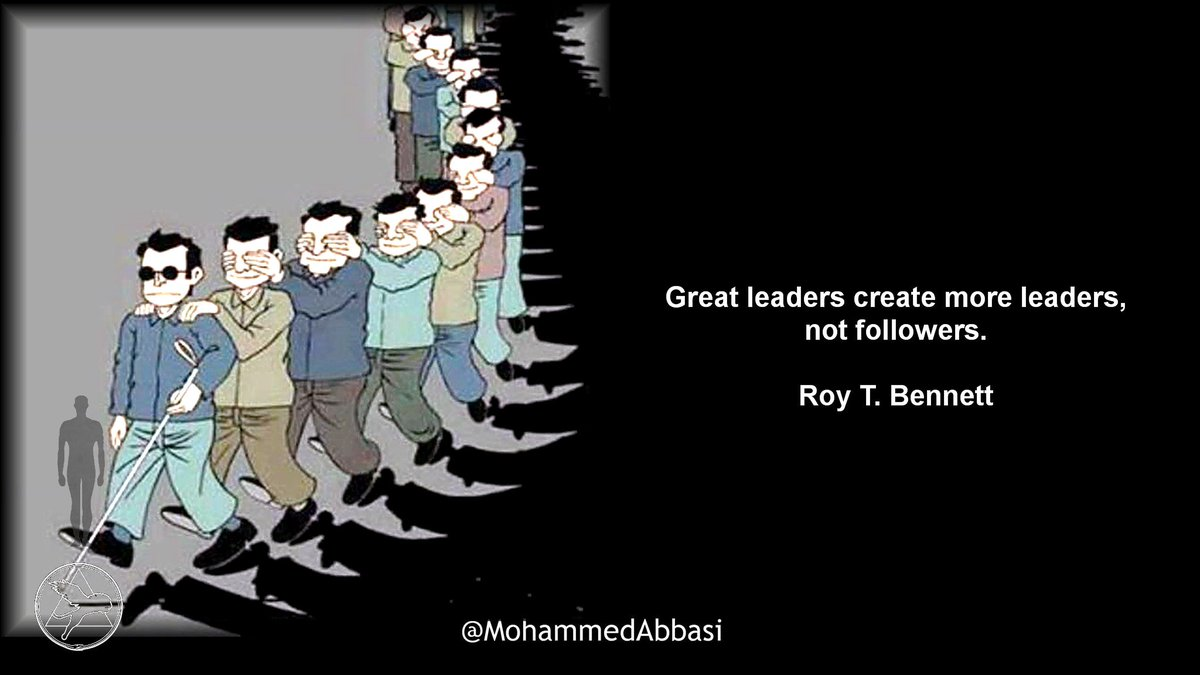 Great leaders create more #leaders, not followers.  #RoyTBennett  #Leadership #Teamwork #ServeToLead<br>http://pic.twitter.com/YJce8y9H1A