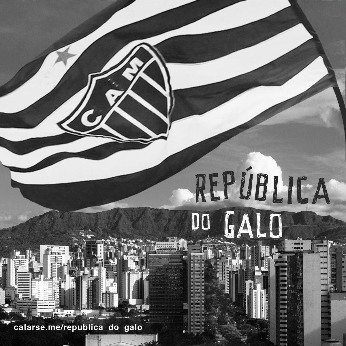 Participe da República do Futebol e faça parte do movimento de popularização de um dos nossos maiores símbolos: a Bandeira Oficial do Clube. Saiba mais, acesse: https://t.co/padnhjnGFH #Galo