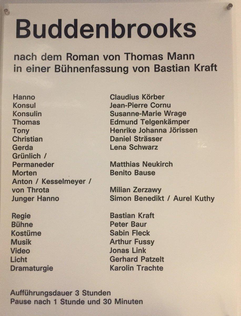 Thomas Mann On Twitter Eine Sehenswerte Inszenierung Am