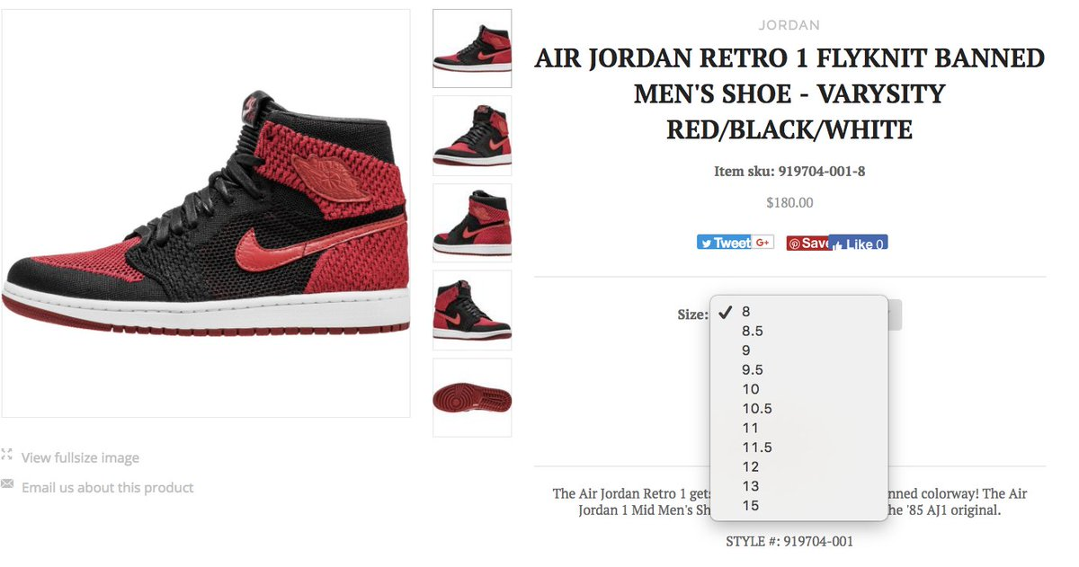 0f3180351a3d  RESTOCK Air Jordan 1 High Flyknit  Banned  Mens http   bit.ly 2zwexKD  GS http   bit.ly 2yofPd4 pic.twitter.com RnLgXfVFNR