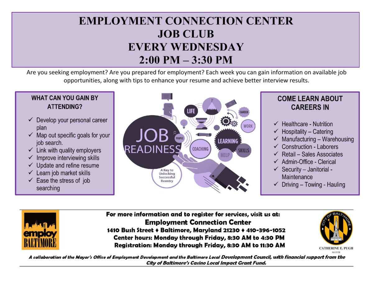 mayor s oed on twitter visit our employment connection center