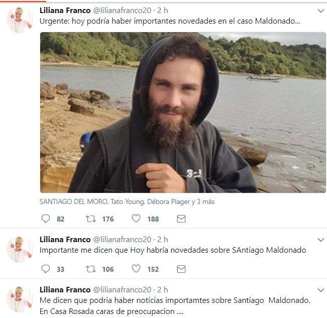 ¿Cómo sabía @lilianafranco20 lo de Maldonado? https://t.co/bpYK4ZMeEm