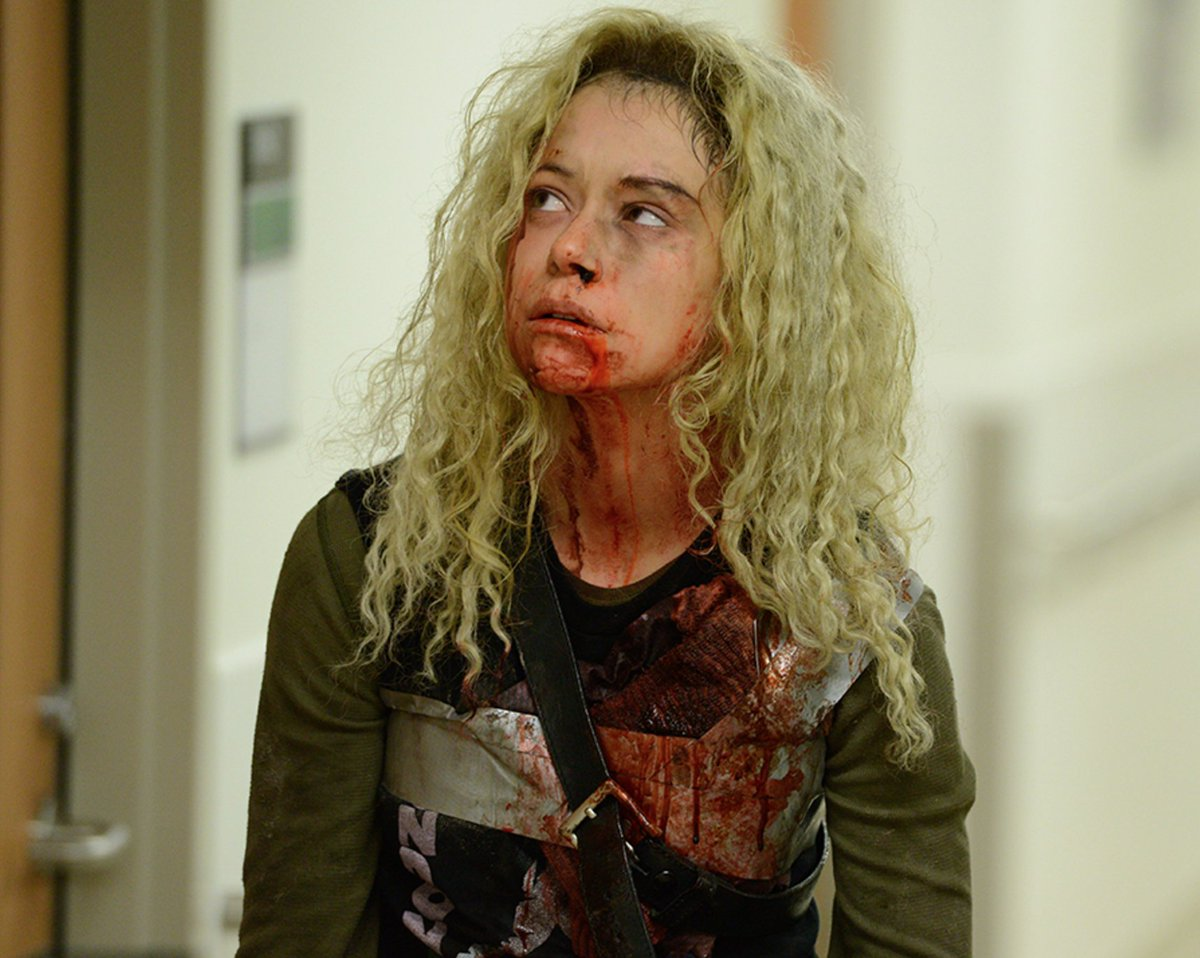 Orphan black t shirt uk - This Is The Orphanblack Crossover We D Like To See Catch Up W Our Friends Over At Dirkgentlybbca For Free Http Bit Ly Dirkgentlys2freepremiere