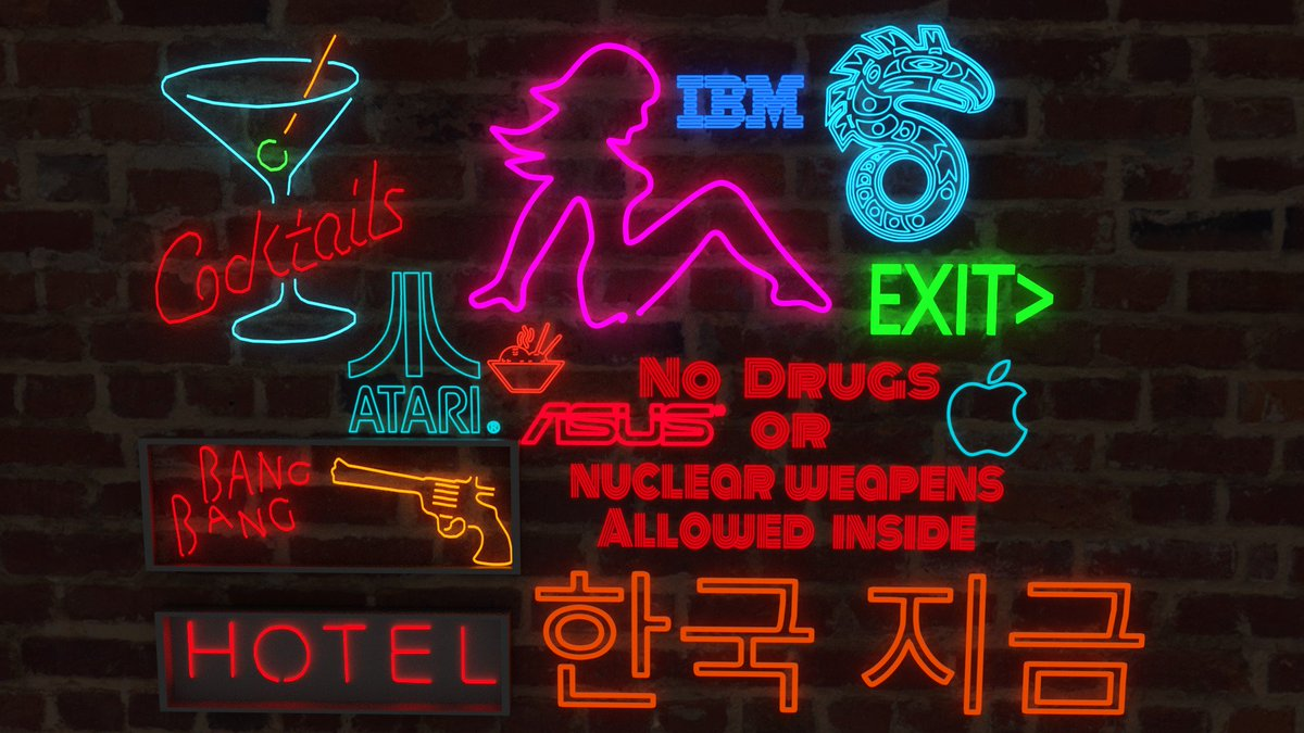 I work a new assets pack  #RT if you like it! #indiedev #gamedev #game #b3d #Blender3d #3D #uinty3d #madewithunity #cyberpunk #urban #neon<br>http://pic.twitter.com/66bpP3g2xv