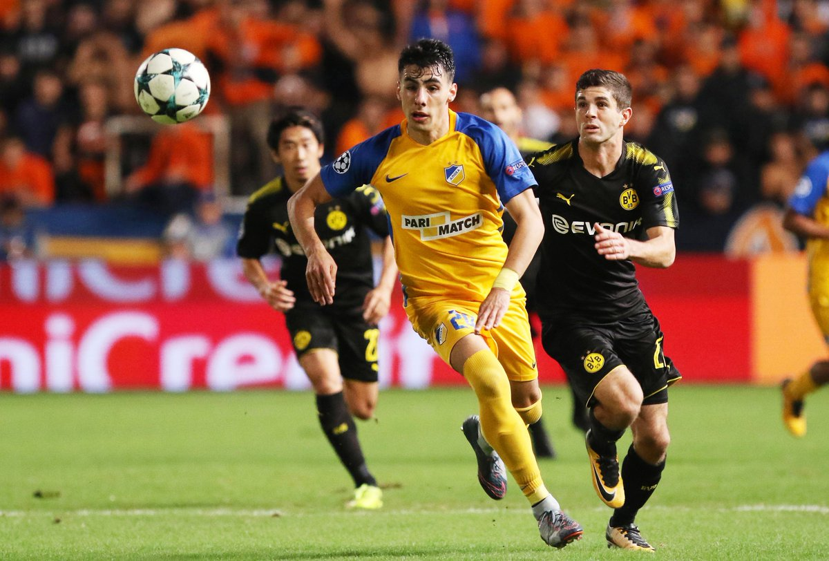 Video: APOEL vs Borussia Dortmund