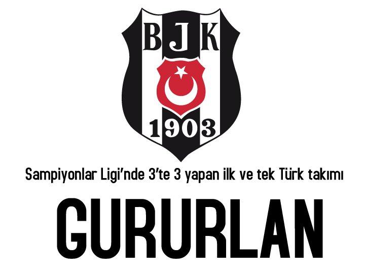Şampiyonlar Ligi'nde 3'te 3 yapan ilk ve tek Türk takımı