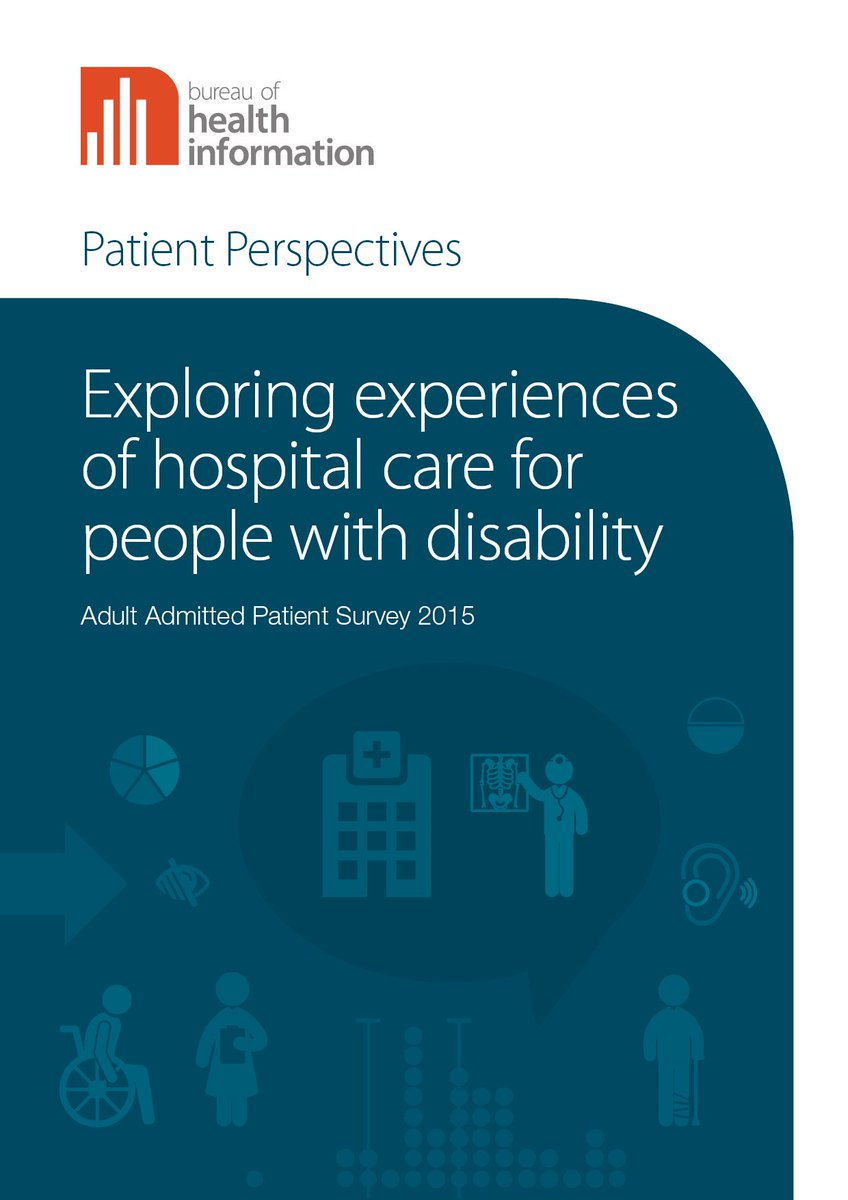 New report: Patients with #disability have less positive experiences of care in NSW hospitals than patients without  http:// bit.ly/2hMBdhY  &nbsp;  <br>http://pic.twitter.com/8WwCcgHJO2