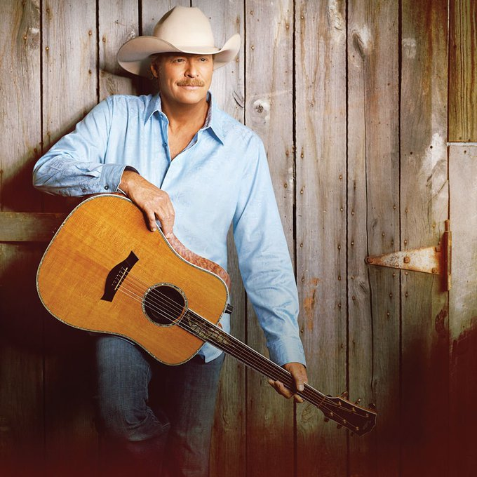 Happy 59th bday to Alan Jackson! He\s still got it.