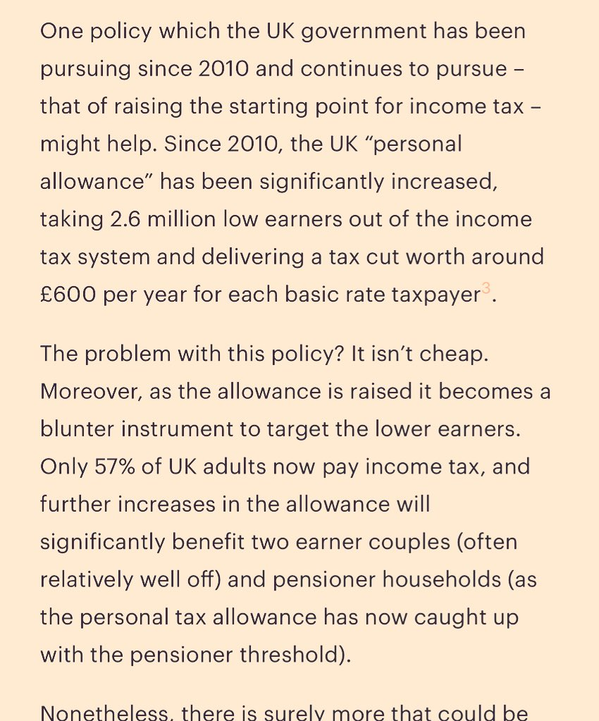 David Laws (a LibDem architect of raising income tax threshold), fo @unherdr , admitting it's past point of fairnehttps://t.co/dXgHcb2t5mss