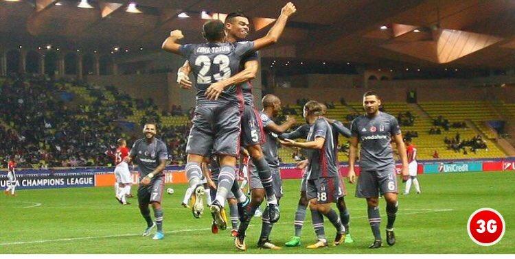 Avrupa Şampiyonlar Liginde 3. maçında 3. galibiyetini alan Beşiktaş'ı...