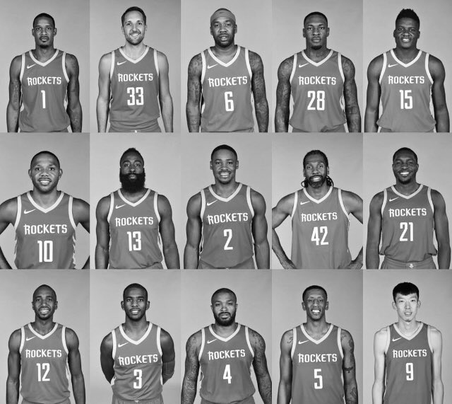 Rockets All Time Roster: Your 2017-18 #Rockets Roster! #RunAsOne Https://t.co