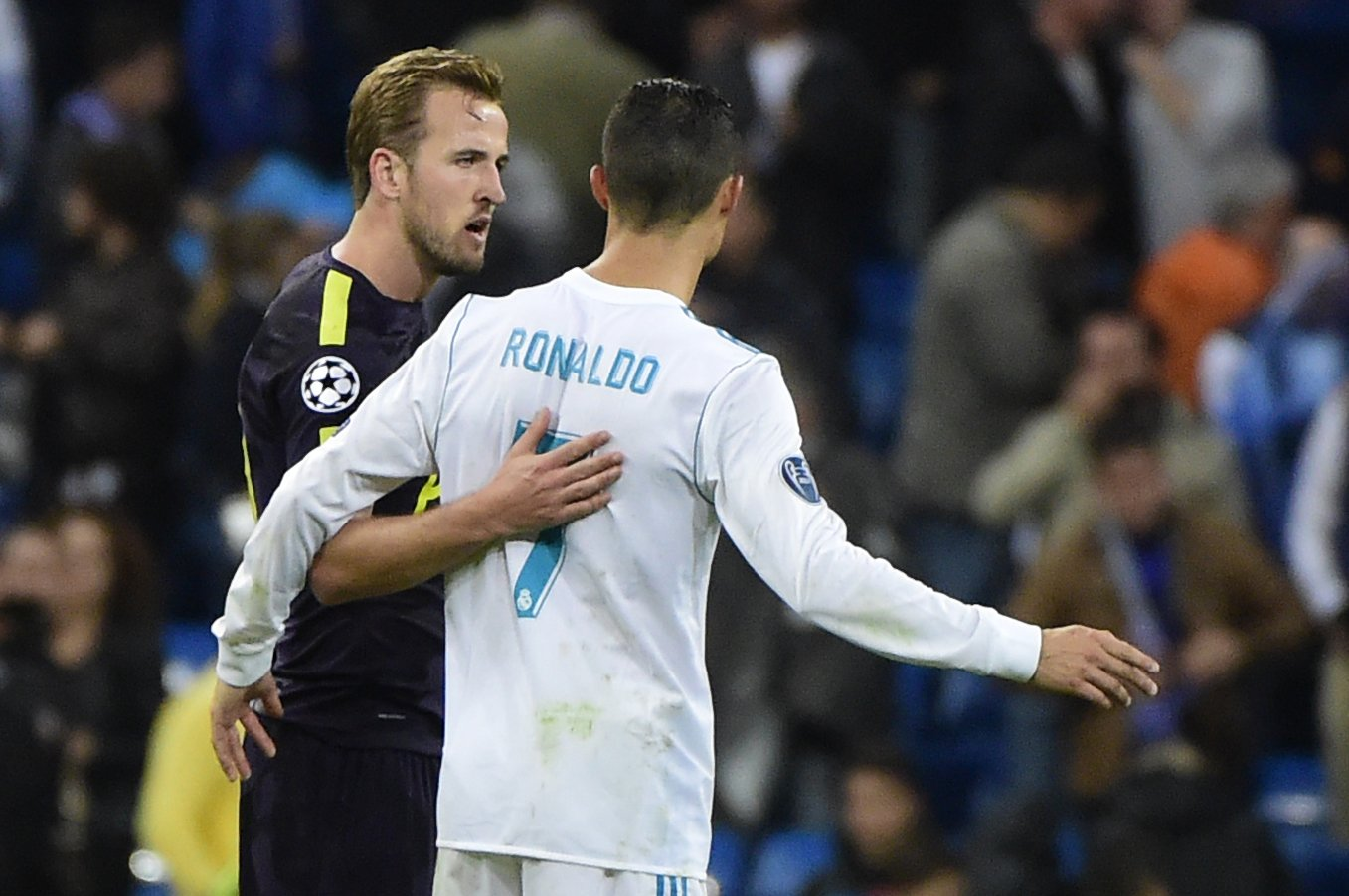 أهداف مباراة ريال مدريد وتوتنهام كاملة
