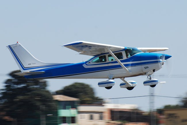 The #Cessna #Skylane looks just as good on the ground as in the air. There is no better plane to have for recreational or training purposes.<br>http://pic.twitter.com/7EKLAMjBjz