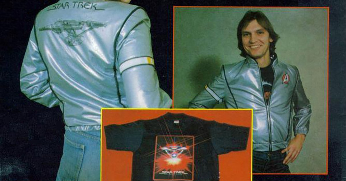 Check out 5 of the wildest pieces of vintage Star Trek merch!  https:/...